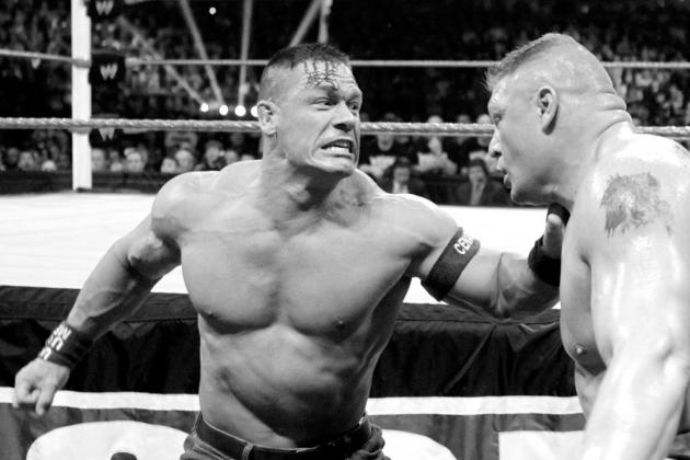 Recapping Brock Lesnar's Matches with John Cena Ahead of SummerSlam Main Event
