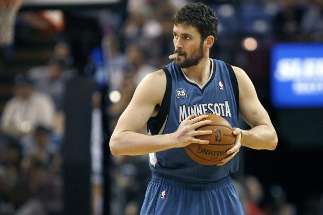 Kevin Love Trade Rumors: Bulls Reportedly Looking to Acquire T-Wolves Star