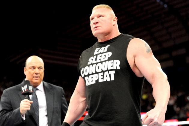 Brock Lesnar Remains WWE's Most Intimidating Heel Even as Part-Timer