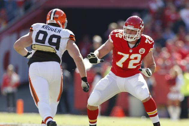Shoulder Healed, Eric Fisher Gets Back to Left Tackle