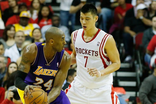 Can Kobe Bryant and Jeremy Lin Coexist in Los Angeles Lakers' Backcourt?
