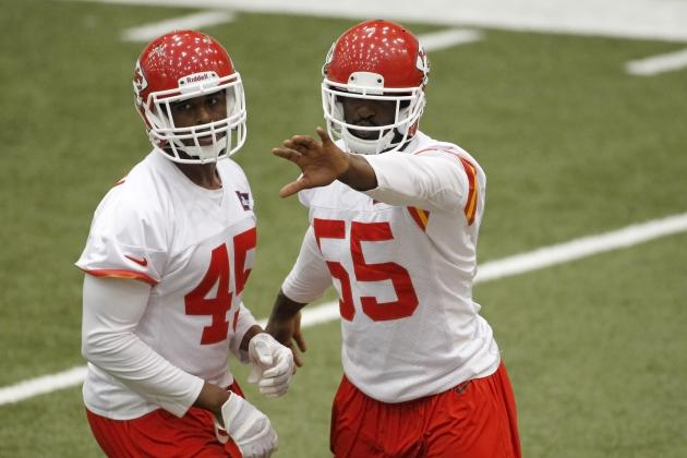 Chiefs' Dee Ford Ready to Play in 'Pass-Rush City'