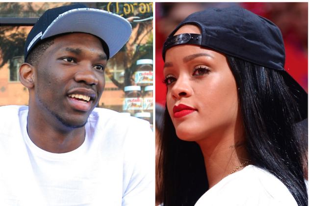 Joel Embiid Moves on from Kim Kardashian, Sets His Eyes on Rihanna