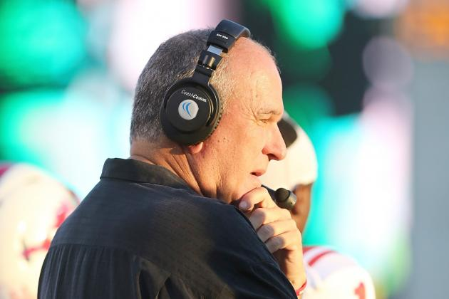 June Jones Issues Statement Clarifying Spring Games for 'Have-Nots'