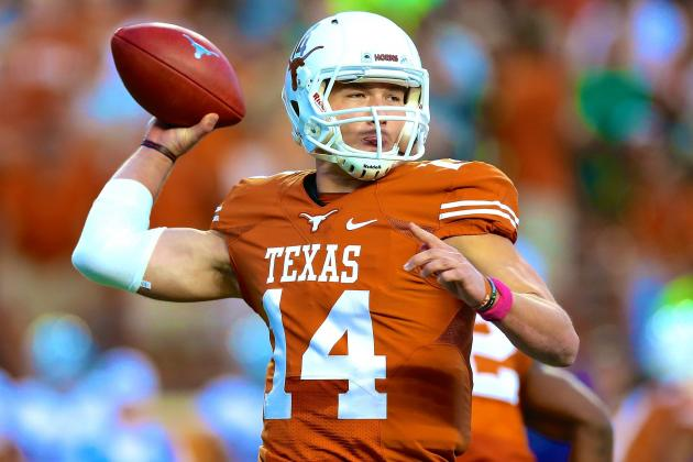 David Ash Named Texas Longhorns Starting QB by Charlie Strong
