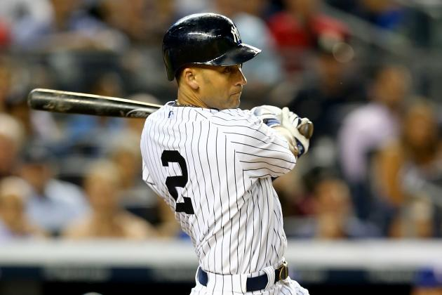 Video: Jeter Surpasses Gehrig for First on Yankees' All-Time Doubles List