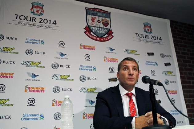 Brendan Rodgers Talks Luis Suarez, Loic Remy, Steven Gerrard, Emre Can and More