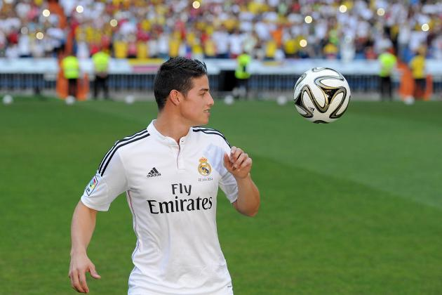 James Rodriguez: Real Madrid's Gain Is Colombia's Loss