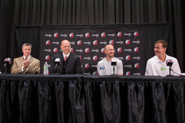 Report Card Grades for Portland Trail Blazers 2014 Offseason So Far