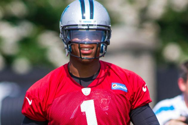 Panthers' Newton Embracing Role as Leader