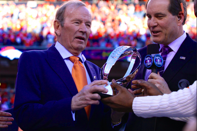 Broncos Owner Pat Bowlen Steps Down Due to Alzheimer's Disease
