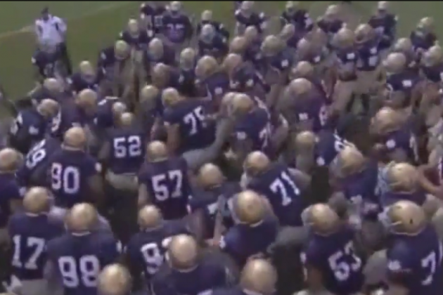 ND 'We're Back' Video Will Pump Irish Fans Up for a Redemption Year