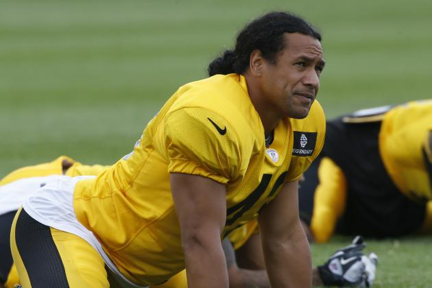 Polamalu Enters Training Camp as Steelers' Longest Tenured Player