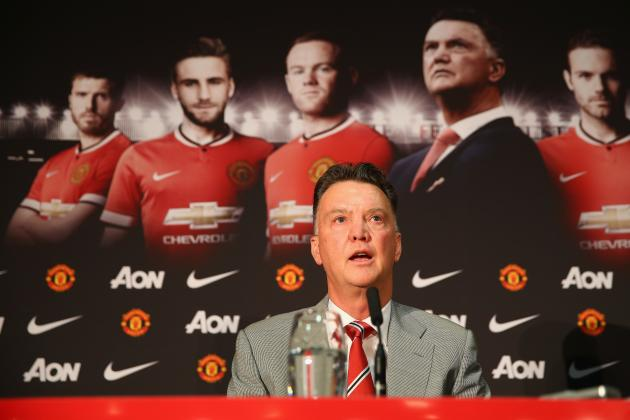 Manchester United Boss Louis Van Gaal Gets His Excuses for Failure in Early