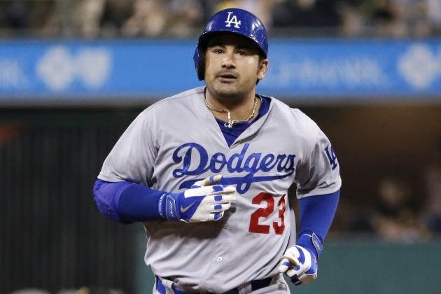 Dodgers' Adrian Gonzalez Hits 250th Home Run of Career