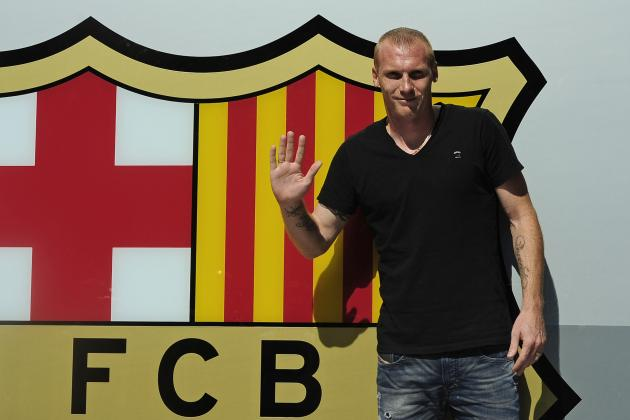 Barcelona Transfer News: Jeremy Mathieu Signing Will Not Solve Defensive Issues