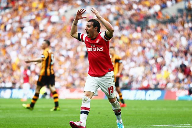 Arsenal Transfer News: Gunners Must Hang on to Santi Cazorla