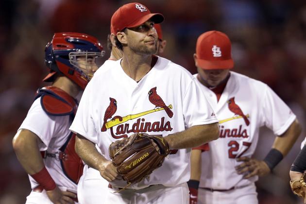 St. Louis Cardinals' Adam Wainwright Sees ERA Rise Above 2.00