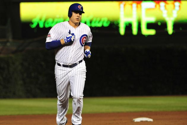 Cubs' Anthony Rizzo 1st in National League to Reach 25 Home Runs