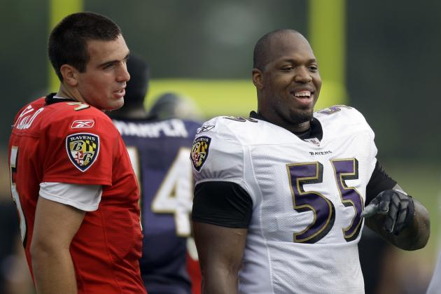 Suggs Would Welcome a More Vocal Flacco