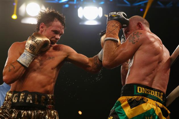 Daniel Geale Refusing to Fight Scared Against KO King Gennady Golovkin