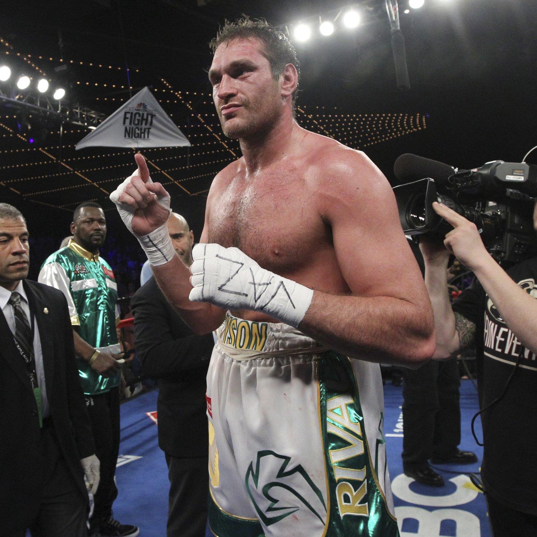 Tyson Fury Vs. Alexander Ustinov: Fight Time, Date, Live