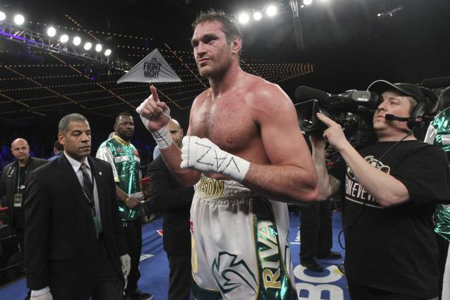 Tyson Fury vs. Alexander Ustinov: Fight Time, Date, Live Stream and TV Info