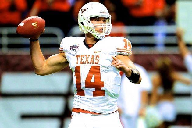 David Ash Named Starting QB for Fall Camp, but Is He Texas' Best Option in 2014?