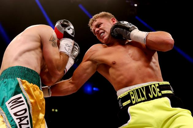 Billy Joe Saunders vs. Emanuele Blandamura: Fight Time, Live Stream and TV Info