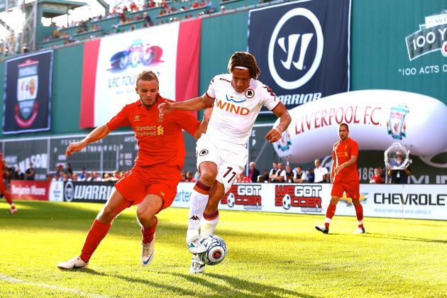 Roma vs. Liverpool: Pre-Season Live Score, Highlights, Report