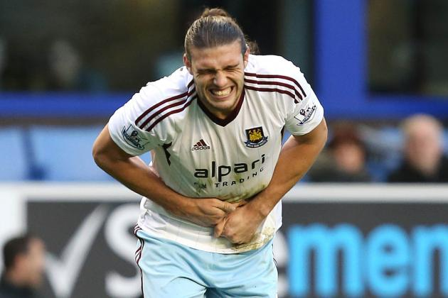 Andy Carroll Injury: Updates on West Ham Star's Ankle and Return