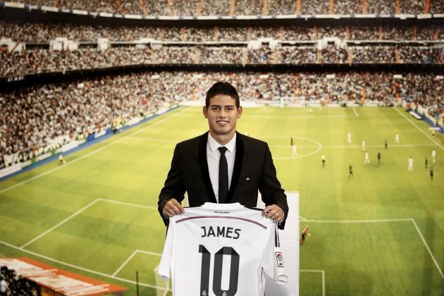 345,000 James Rodriguez Replica Shirts Sold in 48 Hours by Real Madrid