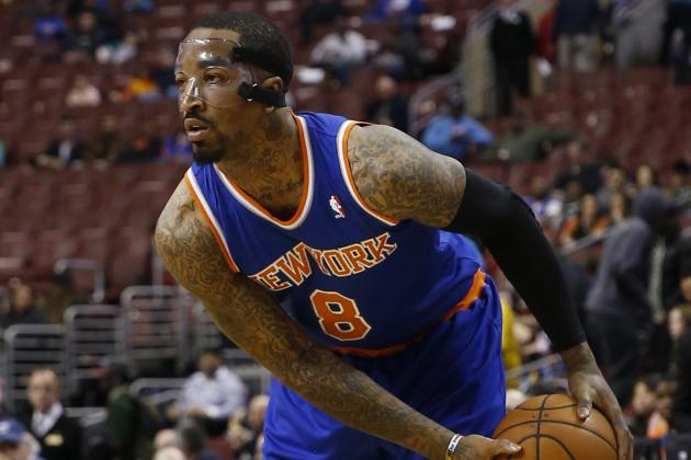 Knicks Expect 'Focused' J.R.; Do You?