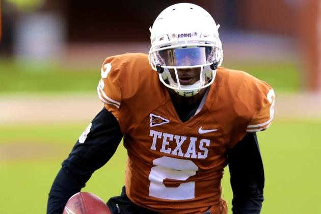 Texas' Kendall Sanders, Montrel Meander Reportedly Charged with Sexual Assault