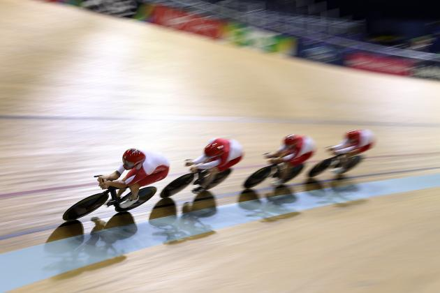Bradley Wiggins Wins Silver Medal in Commonwealth Games 4,000M Team Pursuit