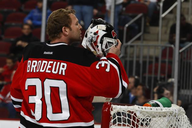 Martin Brodeur's Options in NHL Free Agency Remain Limited; Retirement Coming?