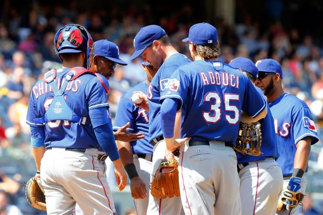 After Loss to Yankees, Rangers 22 Games Under .500 for 1st Time Since 1988
