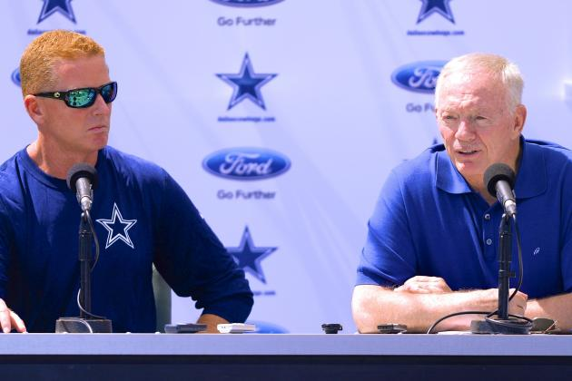 Jerry Jones Showing Signs of Weakness by Keeping Jason Garrett off the Hot Seat