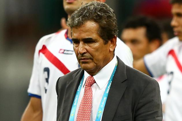 Pinto Calls Time as Costa Rica Coach