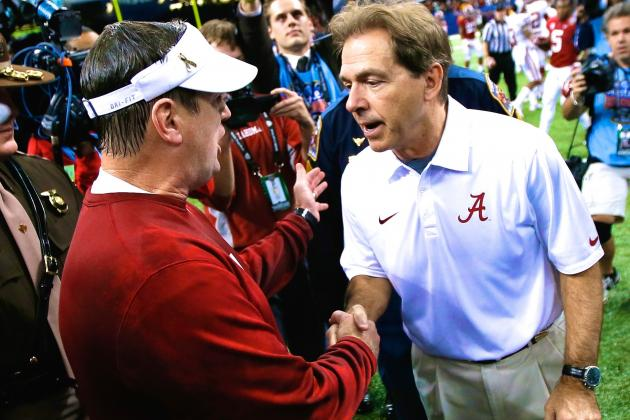 Why Bob Stoops-Nick Saban Rivalry Is What the College Football Playoff Needs