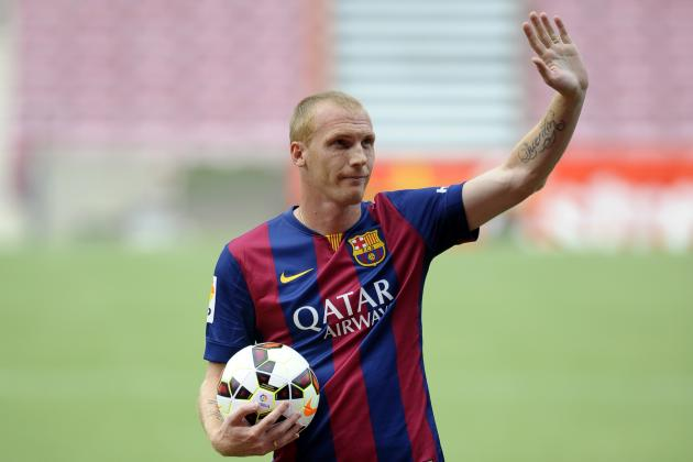 Jeremy Mathieu May Find It Hard to Cope with Immense Pressure at Barcelona