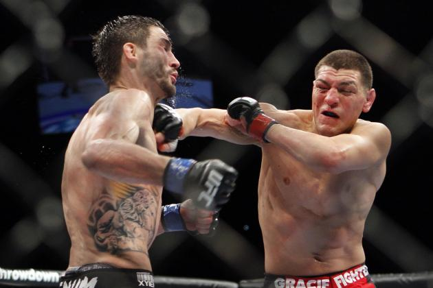 Nick Diaz Signs 3-Fight Contract Extension with UFC, Expected Back Early 2015