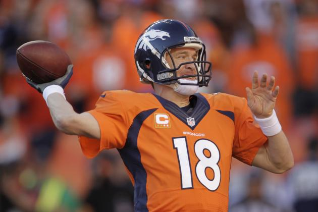 Broncos' Peyton Manning Eyes All-Time Passing TD Record in 2014