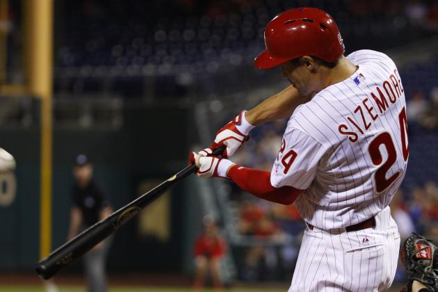 Phillies' Grady Sizemore 1 Hit Away from 1,000 on His Career