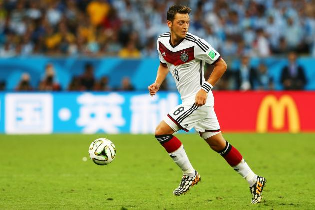 Why the World Cup Is a Positive Sign of Mesut Ozil's Form for This Season