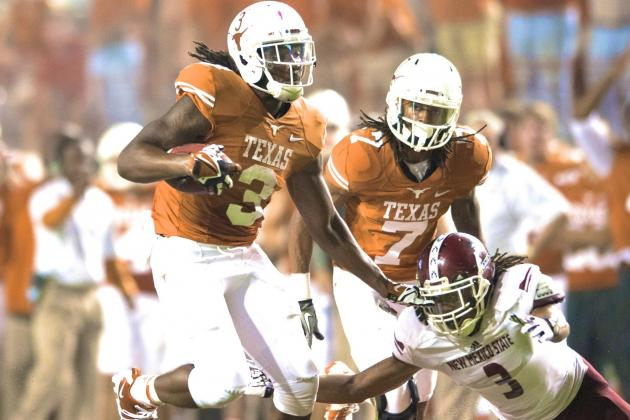 Jalen Overstreet, Chevoski Collins Dismissed from Texas Football Team