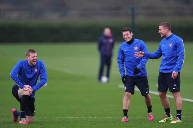 Mesut Ozil, Per Mertesacker, Lukas Podolski Set to Miss Arsenal Season Opener