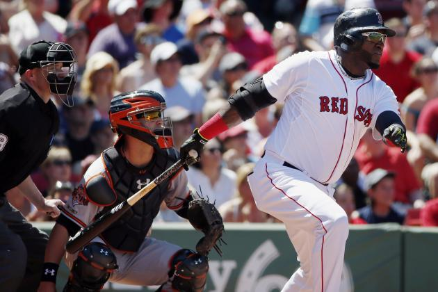 Red Sox's David Ortiz Becomes 53rd Player with 1,500 Career RBI