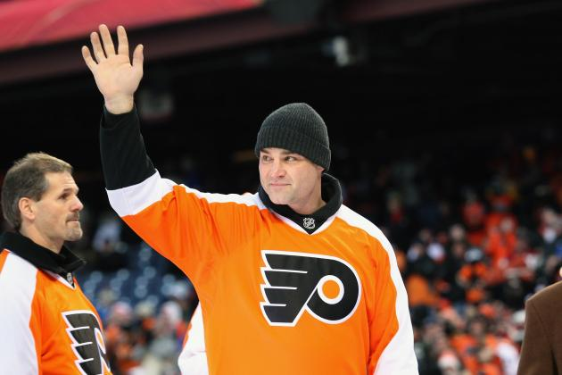 Former NHL Ref Details Altercation with Former Flyer Eric Lindros