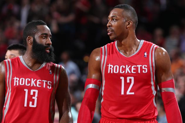 Dwight Howard, James Harden Adding Unneeded Pressure to Rockets' 2014-15 Season